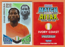 Ivory Coast Didier Drogba Chelsea 149 Man of the Match